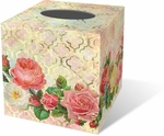 Modern Rose Tissue Box Cover