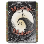 Moonlight Madness Tapestry Throw