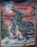 Moonsong Tapestry Throw Blanket