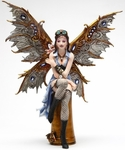 Naomi Steampunk Fairy Figurine