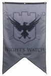 Night's Watch Banner - Game of Thrones