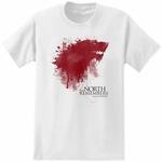 The North Remembers T-Shirt: Game of Thrones