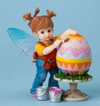 Painting Easter Eggs Fairie