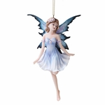 Pale Blue Fairy Ornament