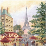 Paris Promenade Luncheon Napkins