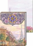 Paris Promenade Brooch Mini Notepad