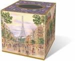 Paris Promenade Tissue Box Cover