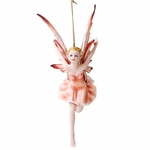 Peach Fairy Ornament
