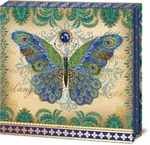 Peacock Butterfly Compact Mirror