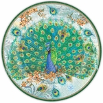 Peacock Dinner Paper Plates