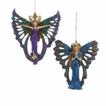 Peacock Fairy Ornaments