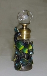Peacock Perfume Bottle