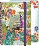 Peacock Soft Cover Bungee Journal