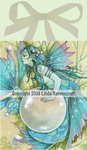 Pearl Mermaid Tile by Linda Ravenscroft