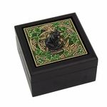 Pentagram Cat Tile Box
