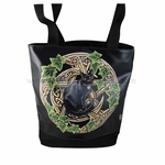 Pentagram Cat Tote Bag