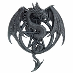 Pentagram Dragon Wall Plaque
