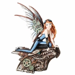 Perching Steampunk Fairy