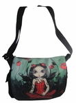 Poppy Garden Fairy Messenger Bag