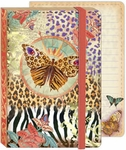 Safari Butterfly Soft Cover Bungee Journal