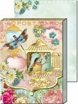 Birdcages Diecut Window Pocket Note Pad