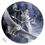 Midnight Messenger Wall Clock