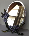 Purple Dragonfly Mirror