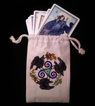 Raven Fey Dice & Tarot Bag
