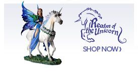 Realm of the Unicorn Fairy Figurines and Fairy Collectibles