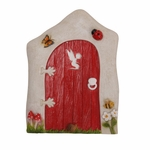 Red Fairy Garden Door