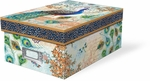 Royal Peacocks Photo Storage Box