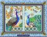 Royal Peacocks Playing Cards