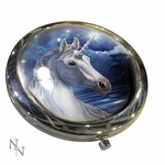 Sacred One Unicorn Compact Mirror