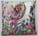 Sanctuary Angel Pillow