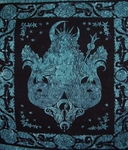 Sea Queen Mermaid Tapestry