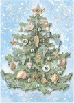 Shell Tree Christmas Cards