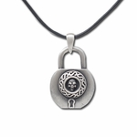 Skull Lock Necklace