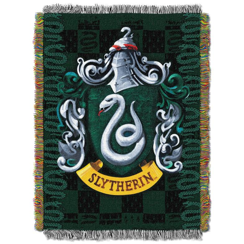 Slytherin Tapestry Throw Blanket Harry Potter Gifts