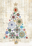 Snowflake Tree Christmas Cards