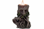 Speak No Evil Greenman Candleholder