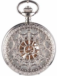 Spiderweb Pocket Watch