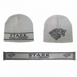 Stark Beanie + Scarf Set: Game of Thrones