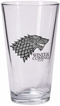 Stark Pint Glass: Game of Thrones