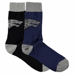 Stark Sigil Socks (2 pair) : Game of Thrones