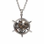 Airship Helm Necklace