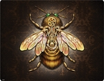 Steampunk Bee iPad Mini Skin