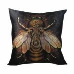 Steampunk Bee Pillow