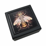 Steampunk Bee Tile Box