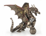 Steampunk Dragon with Sphere
