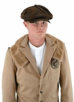 Steampunk Driver Brown Suede